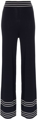 Odyssee High-Waisted Wide-Leg Trousers