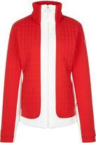Fusalp Red & White Lindsey Ski Jacket