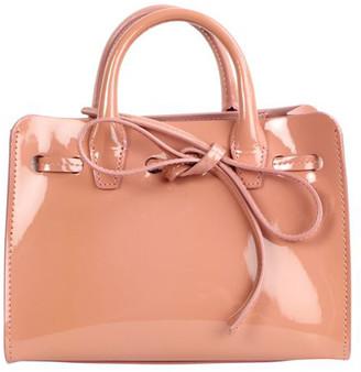 Mansur Gavriel Pink Patent Leather Mini Sun Bag