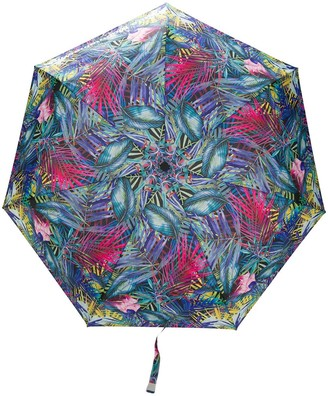 White Mountaineering Botanical Print Umbrella