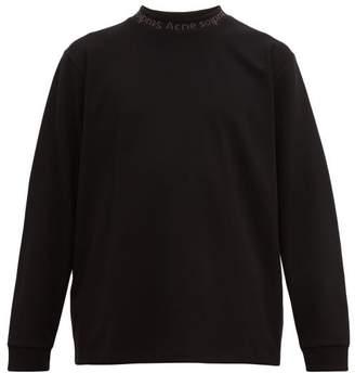 Acne Studios Elogho Long-sleeved T-shirt - Mens - Black