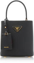 Prada Mini Leather Bucket Bag