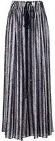 Lanvin floral striped skirt