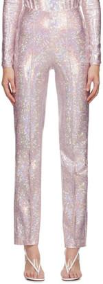Saks Potts Pink Shimmer Lissi Trousers