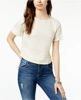 Lucky Brand Tie-Back Striped T-Shirt
