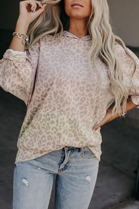 Lettie Leopard Ombre Hoodie