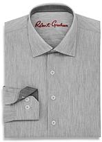 Robert Graham Boys' Rigby Solid Dress Shirt - Big Kid