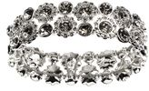 Nine West Drama Silver Crystal Bracelet