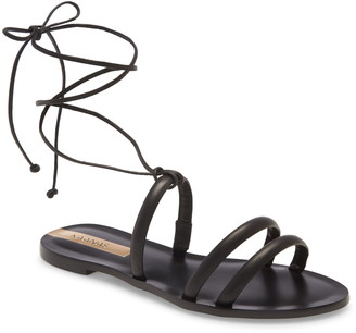 Kaanas Flamengo Lace-Up Sandal