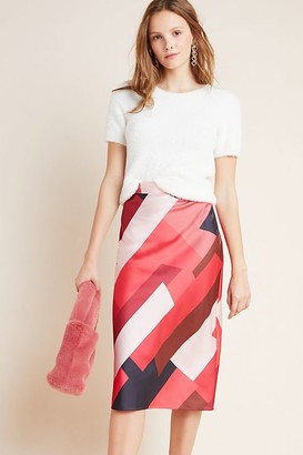 Hutch Rosario Abstract Midi Skirt
