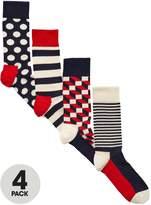 Happy Socks 4pk socks