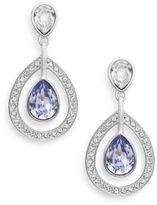 Swarovski Mila Two-Tone Crystal Drop Earrings