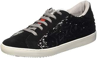 Fake By Chiodo Unisex Adults' Low F 867 Flatform Pumps Black Size: