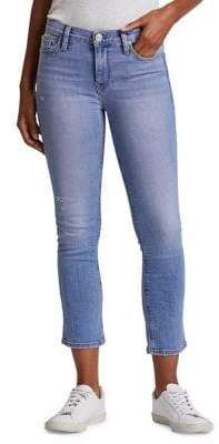 Hudson Jeans Nico Mid Rise Cropped Straight Jeans