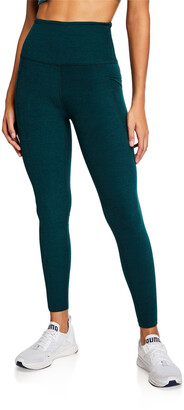 Beyond Yoga Out Of Pocket Space Dye High-Waist Mid Leggings