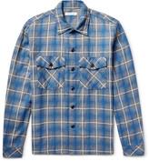 Nonnative - Trooper Slim-fit Checked Cotton-blend Shirt