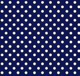 Graco SheetWorld Fitted Pack N Play Sheet - Primary Polka Dots Navy Woven - Made In USA - 27 inches x 39 inches (68.6 cm x 99.1 cm)