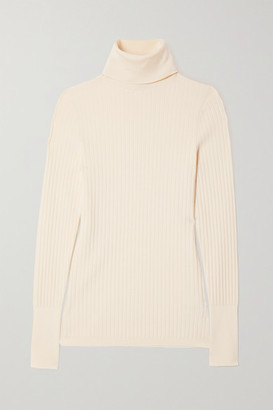 Joseph Ribbed-knit Turtleneck Sweater - Ivory
