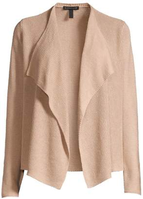 Eileen Fisher Drape Knit Organic Linen-Blend Cardigan