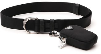 Prada Pouch Double Ring Buckle Belt