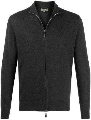 N.Peal Spread Collar Cardigan