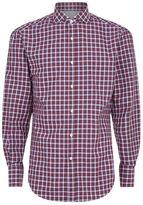 Brunello Cucinelli Slim Fit Checked Shirt