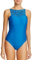Magicsuit Cut It Out Juli Laser-Cut One Piece Swimsuit