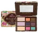 Too Faced Sugar Pop Sugary Sweet Eye Shadow Collection