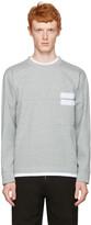 Marni Grey Velcro Pocket Pullover