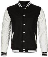 Urban Classics Oldschool Light Jacket Black / White