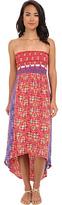 Angie Printed Tube Dress