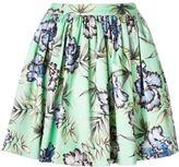 Alice + Olivia Alice+Olivia - 'Tania' skirt - women - Cotton/Polyester/Spandex/Elastane - 8