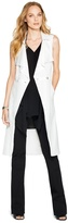 White House Black Market Sleeveless Trench