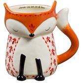 Natural Life Folk Critter Fox Mug