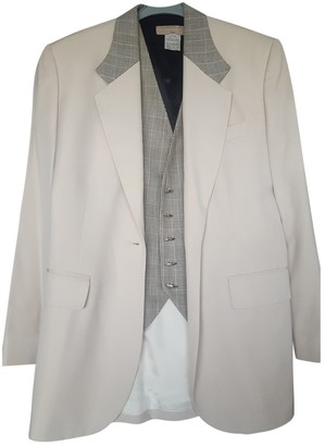 Barbara Bui Beige Wool Jacket for Women