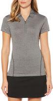 Pga Tour PGA TOUR Easy Care Short Sleeve Jersey Polo Shirt