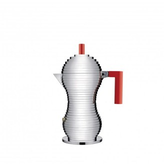 Alessi Red Pulcina Induction Espresso Coffee Maker