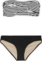 Tart Collections Charlotte striped bandeau bikini