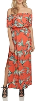 1 STATE 1.state Floral Off-the-Shoulder Maxi Dress