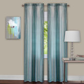 Asstd National Brand Sombre 2-Pack Rod-Pocket Curtain Panel