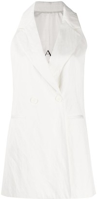 Ermanno Ermanno Double-Breasted Gilet