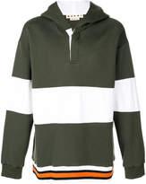 Marni striped hoodie