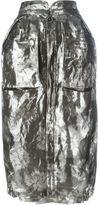 Maison Margiela floral jacquard skirt - women - Silk/Polyester/Spandex/Elastane/Metallic Fibre - 40