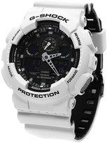 Casio Men's G-Shock GA100L-7A Silicone Quartz Watch