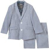 Appaman Shorts Suit Set (Toddler/Kid) - Indigo Seersucker - 2T