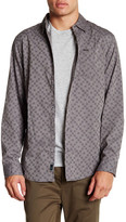 Burnside Regular Fit Cube Shirt