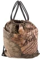 Givenchy Printed Drawstring Backpack w/ Tags
