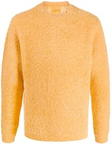 Saturdays NYC Wade Boucle crew-neck jumper