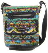 Sakroots Artist Circle Small Flap Messenger Bag