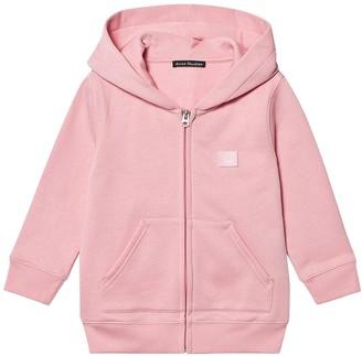 Acne Studios Kids Zipped Hoodie Blush Pink